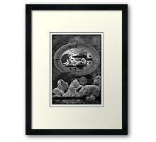 ©DA Astral World In Monochromatic Framed Print