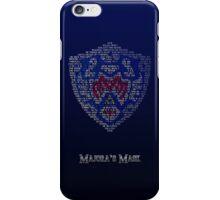 Hero's Shield (Poem) iPhone Case/Skin