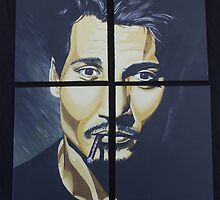 Mr. Depp in Quarters by CJHornbeck