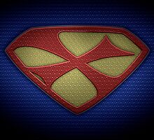 "The Letter X in the Style of ""Man of Steel"" by BigRockDJ"