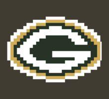 8Bit Green Bay Packers NFL by CrissChords
