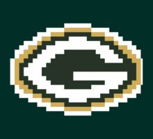 8Bit Green Bay Packers NFL by CrissChords