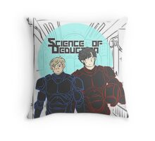 Science of Deduction Throw Pillow