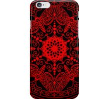 Red Moths iPhone Case/Skin
