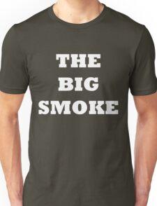 THE BIG SMOKE BELFAST White Unisex T-Shirt