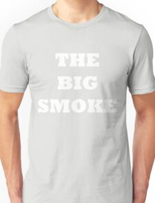 THE BIG SMOKE BELFAST White Unisex T-Shirt