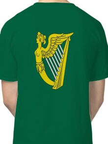 IRISH HARP IRELAND GREEN GOLD Classic T-Shirt