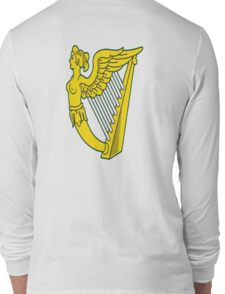 IRISH HARP IRELAND GREEN GOLD Long Sleeve T-Shirt