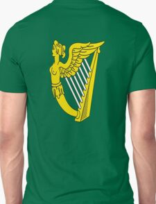 IRISH HARP IRELAND GREEN GOLD T-Shirt
