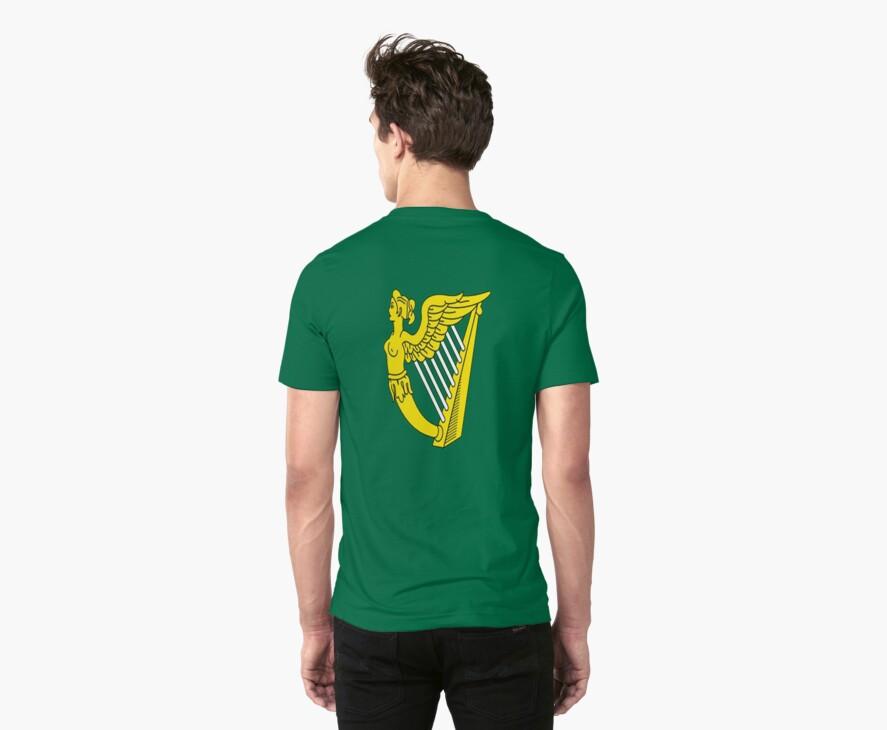IRISH HARP IRELAND GREEN GOLD by BelfastBoy