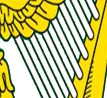 IRISH HARP IRELAND GREEN GOLD Sticker