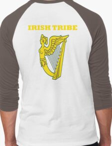 IRISH TRIBE IRELAND HARP Men's Baseball ¾ T-Shirt