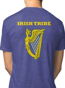 IRISH TRIBE IRELAND HARP Tri-blend T-Shirt