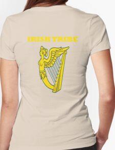 IRISH TRIBE IRELAND HARP Womens Fitted T-Shirt