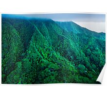 Kualoa Backcountry Poster