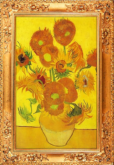 Sunflowers by Vincent van Gogh by ColorPalette