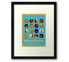 Moonrise Kingdom featuring Suzy Bishop & Sam Shakusky Framed Print
