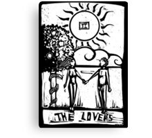 The Lovers - Tarot Cards - Major Arcana Canvas Print