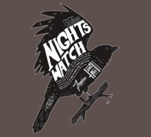 Night's Watch Crow by innercoma