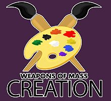 Weapons of mass creation - Purple by Adamzworld