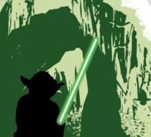 Yoda's Swamp Sticker