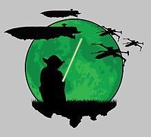 Yoda Moonglow by KAMonkey
