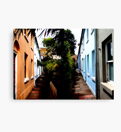 Back Street Brighton Canvas Print