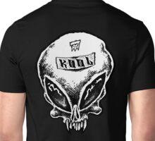 Alien Skull B&W Unisex T-Shirt
