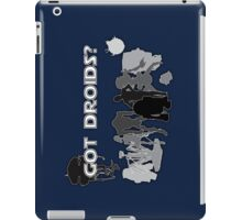 Got Droids? Calling all Jawas! iPad Case/Skin