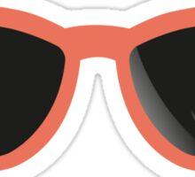 Retro sunglasses Sticker
