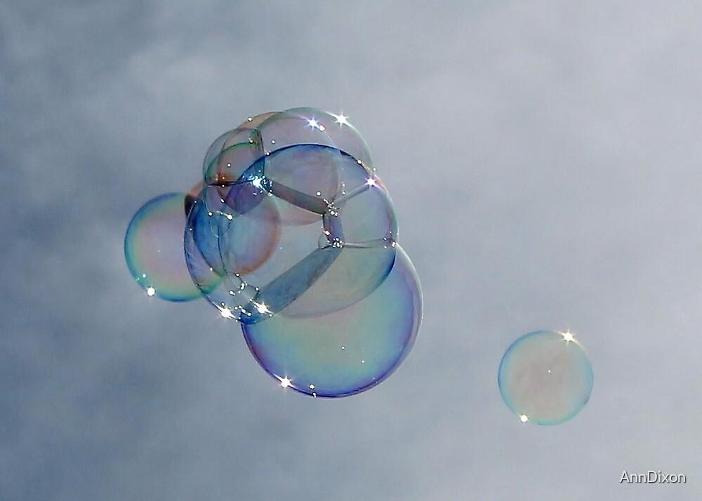 Pretty Bubbles in the Air by AnnDixon