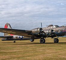 """Boeing B-17G Fortress II 44-8846/F-AZDX """"Pink Lady"""" by Colin Smedley"""