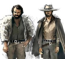 Bud Spencer & Terence Hill by marcof1