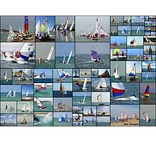 Newhaven & Seaford Sailing Club Collage Photographic Print