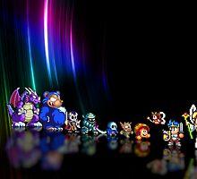 Wonder Boy in Monster World pixel art by smurfted