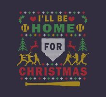 Softball Ugly Christmas Party Sweater Digital Art Unisex T-Shirt