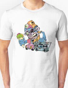 Monkey Art Design Monster T-Shirt