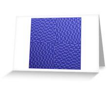 Vague Blur (violet monochrome) Greeting Card