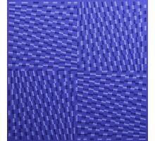 Vague Blur (violet monochrome) Photographic Print
