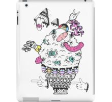 Monster Ice Cream  iPad Case/Skin