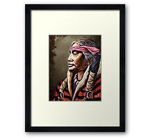 """Native Nobility"" Framed Print"