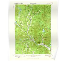 USGS TOPO Map New Hampshire NH Rumney 330328 1928 62500 Poster