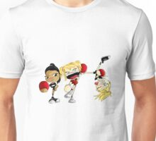 The Unholy Trinity Plays Dodgeball Unisex T-Shirt