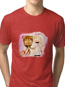 Animal Onesies Tri-blend T-Shirt