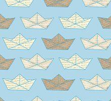 Blue sea by Wendy Senssen