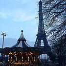 Paris Dusk by JenThompson85
