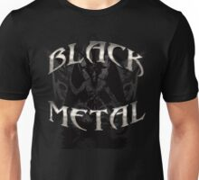 BLACK METAL BAPHOMET Unisex T-Shirt