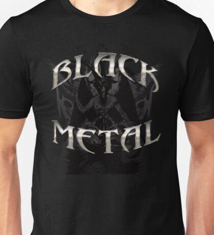 BLACK METAL BAPHOMET Unisex T-Shirt