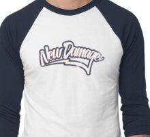 New Damage Baseball (Grunge) Men's Baseball ¾ T-Shirt