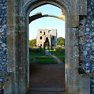 Castle Doorway by JenThompson85